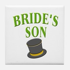 Bride's Son (hat) Tile Coaster