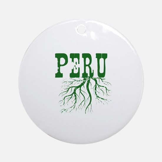Peru Roots Ornament (Round)
