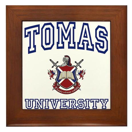 TOMAS University Framed Tile