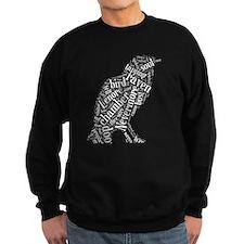 Double-sided Word Cloud Sweatshirt
