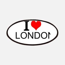 I Love London Patches