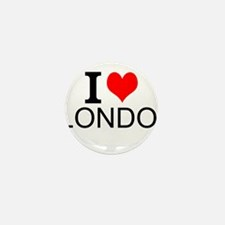 I Love London Mini Button (10 pack)