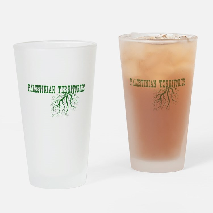 Palestinian Roots Drinking Glass