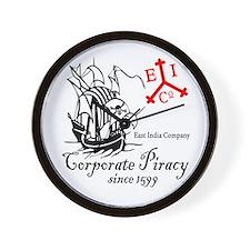 EIC Corporate Piracy Wall Clock
