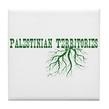 Palestinian Roots Tile Coaster