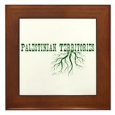 Palestinian Roots Framed Tile