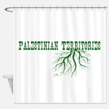 Palestinian Roots Shower Curtain