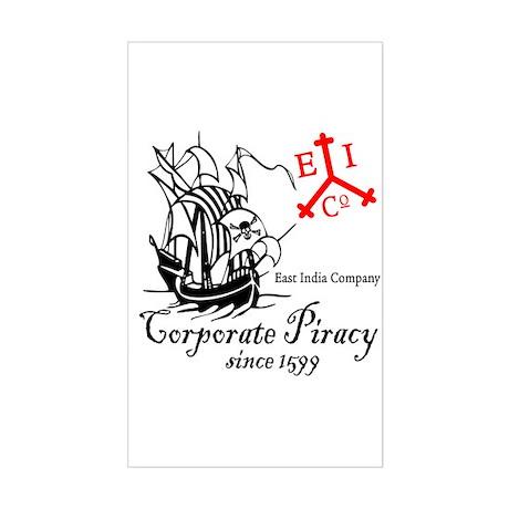 EIC Corporate Piracy Rectangle Sticker