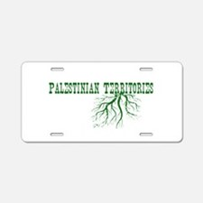Palestinian Roots Aluminum License Plate