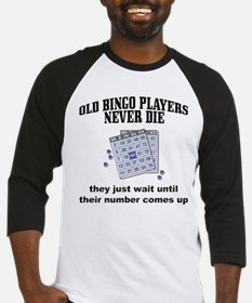 Old Bingo Players Baseball Jersey