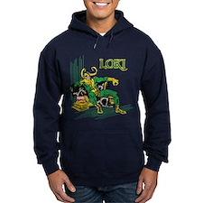Marvel Comics Loki Retro Hoody