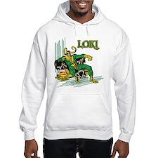 Marvel Comics Loki Retro Jumper Hoody