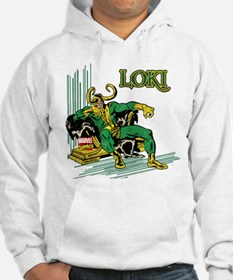 Marvel Comics Loki Retro Jumper Hoody