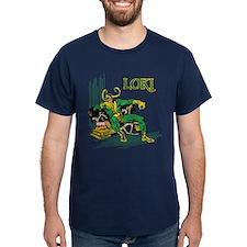 Marvel Comics Loki Retro T-Shirt