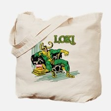 Marvel Comics Loki Retro Tote Bag