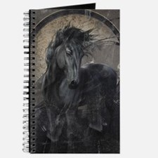 Gothic Friesian Horse Journal