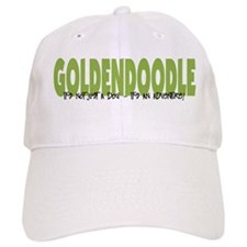 Goldendoodle ADVENTURE Baseball Cap