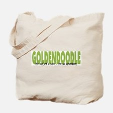 Goldendoodle ADVENTURE Tote Bag
