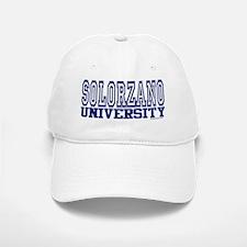 SOLORZANO University Baseball Baseball Cap