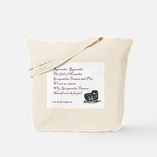 """""""Remember Remember"""" Gunpowder Plot Tote Bag"""