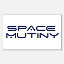 Space Mutiny Rectangle Decal