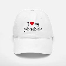 I LOVE MY Goldendoodle Baseball Baseball Cap