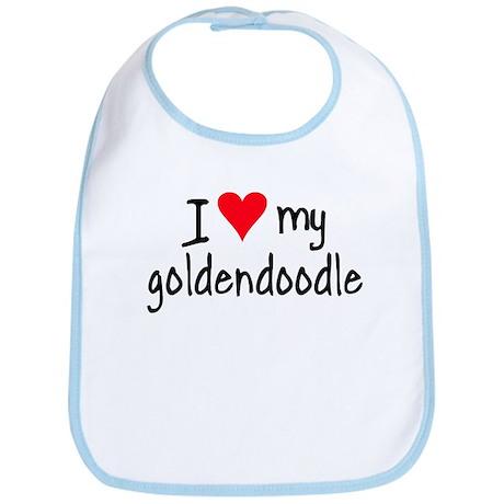 I LOVE MY Goldendoodle Bib