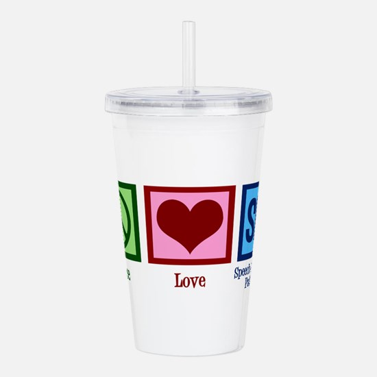 Speech Language Pathol Acrylic Double-wall Tumbler