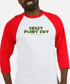 Crazy Plant Guy Baseball Jersey