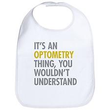 Its An Optometry Thing Bib