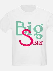 Stylized Big Sister T-Shirt
