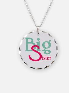 Stylized Big Sister Necklace