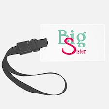 Stylized Big Sister Luggage Tag