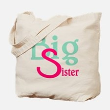 Stylized Big Sister Tote Bag