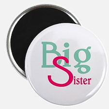 Stylized Big Sister Magnet