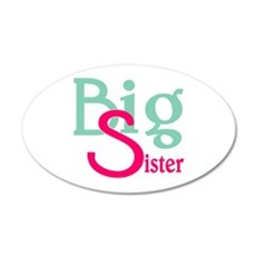 Stylized Big Sister Wall Decal