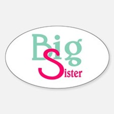 Stylized Big Sister Decal