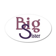 Big Sister Stylish Sibling D Wall Decal