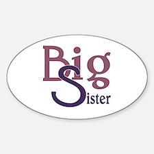 Big Sister Stylish Sibling Design Decal