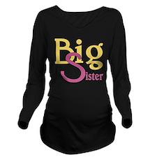 Big Sister Stylish S Long Sleeve Maternity T-Shirt