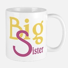 Big Sister Stylish Sibling Design Mug