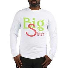 Big Sister Stylish Sibling Des Long Sleeve T-Shirt
