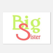 Big Sister Stylish Siblin Postcards (Package of 8)