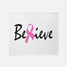 Believe Throw Blanket