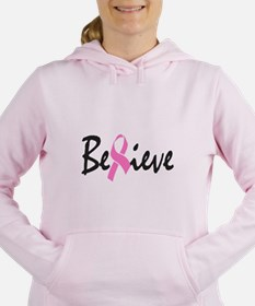 Believe Women's Hooded Sweatshirt