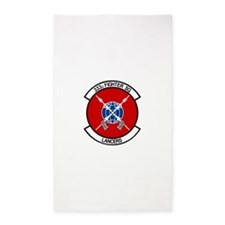 333d_fighter.png 3'x5' Area Rug