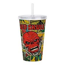 Marvel Comics Red Skul Acrylic Double-wall Tumbler