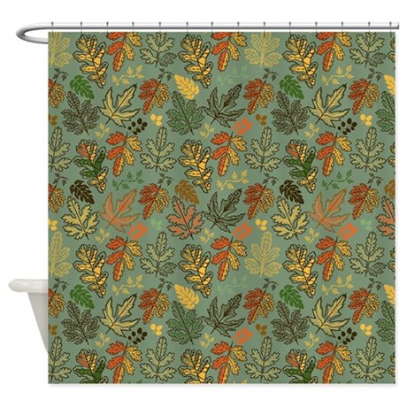 Leaves Of Fall Shower Curtain By Spicetree