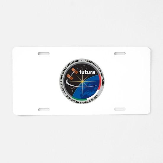 Futura Mission Logo Aluminum License Plate