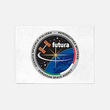 Futura Mission Logo 5'x7'area Rug